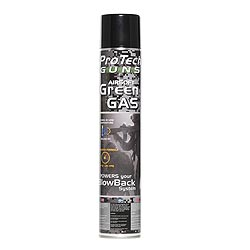 Plyn do airsoftové zbranì GREEN GAS PRO TECH 750 ml