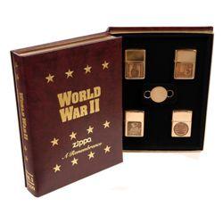 Zapalovaèe ZIPPO WWII 4 ks v dárkové krabici