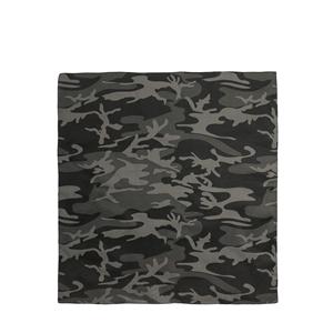 Šátek 68 x 68 cm JUMBO BLACK CAMO