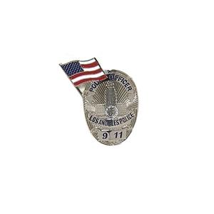 Odznak POL. OFFICER LOS ANGELES POLICE 9 11
