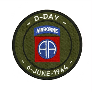 Nášivka D-DAY 82nd Airborne