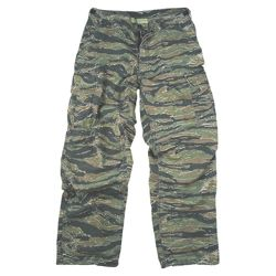 Kalhoty VINTAGE VIETNAM ERA TIGER STRIPE CAMO