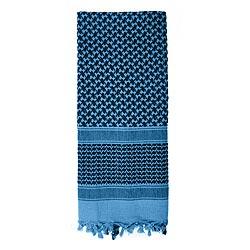 Šátek SHEMAGH odlehèený MODRÝ 105 x 105 cm