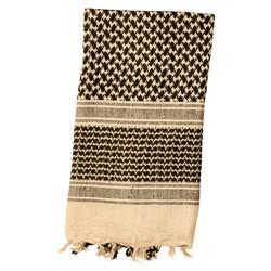 Šátek SHEMAGH odlehèený KHAKI 105 x 105 cm