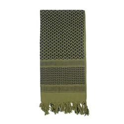 Šátek SHEMAGH odlehèený OLIV 105 x 105 cm
