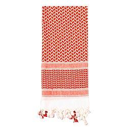 Šátek SHEMAGH odlehèený ÈERVENO-BÍLÝ 105 x 105 cm - zvìtšit obrázek