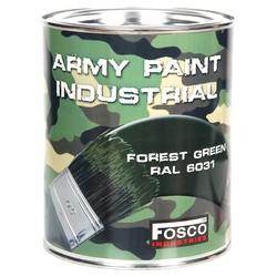 Barva ARMY nátìrová 1l RAL 6031 ZELENÁ LESNÍ