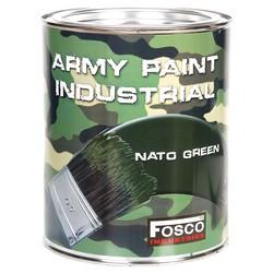 Barva ARMY nátìrová 1l ZELENÁ NATO