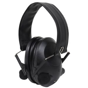 Sluchátka elektronická ACTIV proti hluku ÈERNÁ