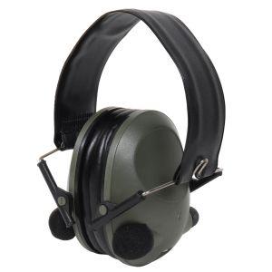 Sluchátka elektronická ACTIV proti hluku ZELENÁ