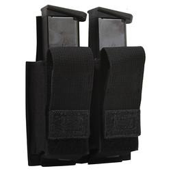 Pouzdro MOLLE na dva pistolové zásobníky ÈERNÉ