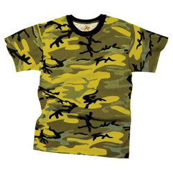 Triko STINGER YELLOW CAMO