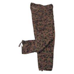 Kalhoty K4 RAKOUSKÉ maskované AUSTRIA CAMO použité