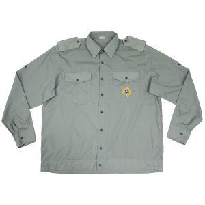 Košile SK s dlouhým rukávem slovenská vycházková ZELENÁ