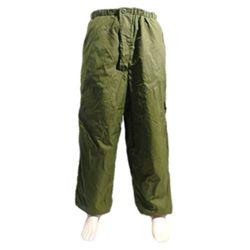 Kalhoty zateplené daune BRITSKÉ oboustranné