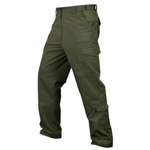Kalhoty CONDOR TACTICAL rip-stop ZELENÉ