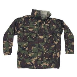 Bunda britská GORETEX DPM TARN s kapucí v límci použitá