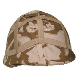 Potah na bojovou helmu britsk� DPM DESERT pou�it�