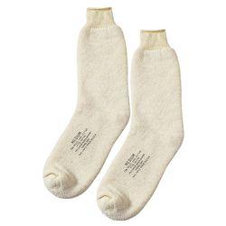 Ponožky US NAVY WOOL BILÉ