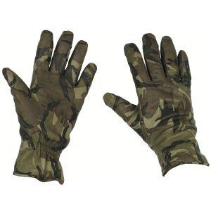 Rukavice kožené BRITSKÉ MK II Combat MTP použité