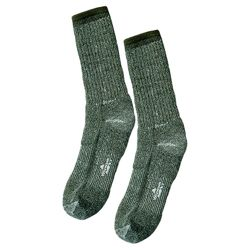 Ponožky US WIGWAM DRAB MERINO WOOL ZELENÉ