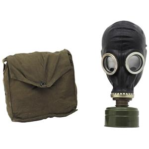 Maska plynová ruská GP-5 s taškou ÈERNÁ