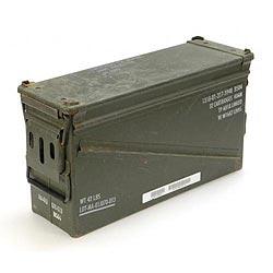 Bedna na munici 40cal. 32 patron použitá