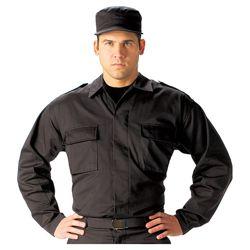 Košile taktická BDU dlouhý rukáv ÈERNÁ