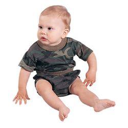 Triko dìtské BABY s krátkým rukávem WOODLAND