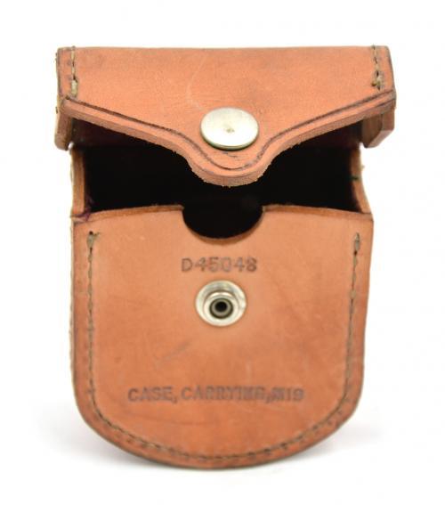 Pouzdro na kompas US M19 kožené original použité