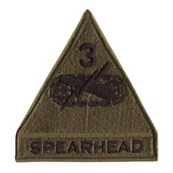 Nášivka SPEARHEAD 3RD ARMORE
