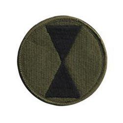 Nášivka 7TH INFANTRY DIVISION