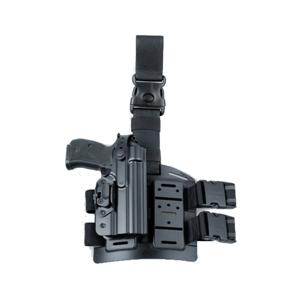Pouzdro na pistol PRAVÉ 740 pro CZ 75 se stehenním závìsem 875