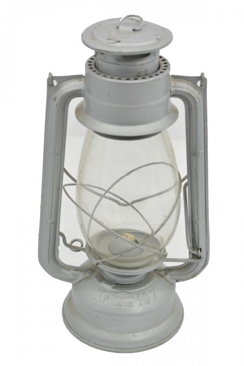 Lampa petrolejová METALOGLOBUS Nr.107 STØÍBRNÁ