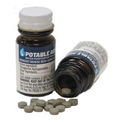 Tablety pro èištìní vody US Potable Aqua 50 tablet v balení