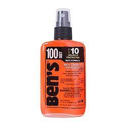 Repelent proti hmyzu BENS 100 DEET 100 ml