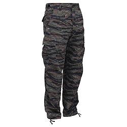 Kalhoty BDU TIGER STRIPE CAMO