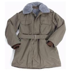 Kabát vz.85 zelený s vložkou a límcem mix