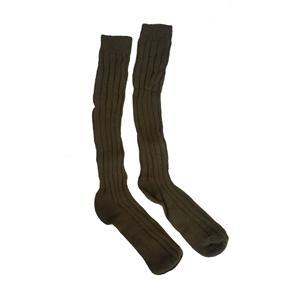 Ponožky zimní podkolenky AÈR ZELENÉ