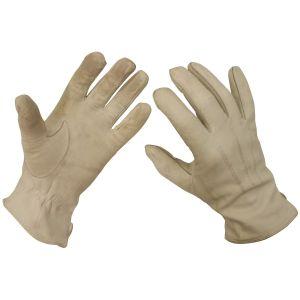 Rukavice prstové kožené AÈR BÍLÉ použité