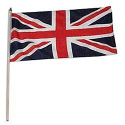 Vlajka na tyèce velká BRITÁNIE