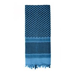 Šátek SHEMAGH 105 x 105 cm MODRO-ÈERNÝ
