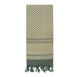 Šátek SHEMAGH 105 x 105 cm FOLIAGE