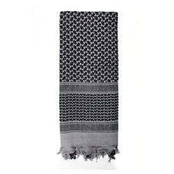 Šátek SHEMAGH 105 x 105 cm ŠEDO-ÈERNÝ