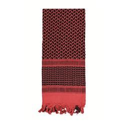 Šátek SHEMAGH 105 x 105 cm ÈERVENO-ÈERNÝ - zvìtšit obrázek