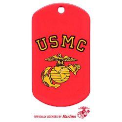 Známka identifikaèní USMC G&A ÈERVENÁ