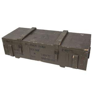 Bedna døevìná od munice 120-M použitá