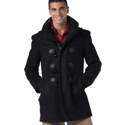 doprodej Kabát NAVY vlnìný èerný