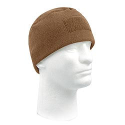 Èepice TACTICAL POLAR FLEECE COYOTE BROWN