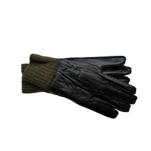 Rukavice AÈR kožené zateplené s nápletem vel.22